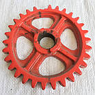 ЗУБЧАТКА РЕДУКТОРА  (колесо зубчатое) СЗГ 00.119 (СЗТ)  z=30, d=35, D=190, фото 3