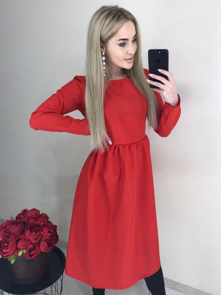 "Платье ""Евангелина"" МИДИ 42-44р и 44-46р."