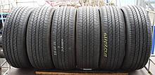 Летние шины б/у 215/60 R17 Dunlop, пара, 5,5 мм