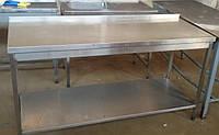 Производственный стол с нержавейки б/у (1600Х700 мм.)