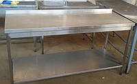 Производственный стол с нержавейки б/у (1600Х700 мм.), фото 1