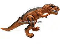 Динозавр игрушечный «Тираннозавр» на радиоуправлении (звук, свет) арт. F161/352 - 2 цвета Коричневый, фото 4