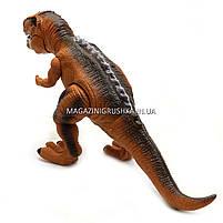 Динозавр игрушечный «Тираннозавр» на радиоуправлении (звук, свет) арт. F161/352 - 2 цвета Коричневый, фото 3