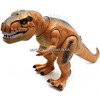 Динозавр игрушечный «Тираннозавр» на радиоуправлении (звук, свет) арт. F161/352 - 2 цвета Коричневый, фото 6