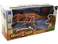 Динозавр игрушечный «Тираннозавр» на радиоуправлении (звук, свет) арт. F161/352 - 2 цвета Коричневый, фото 7