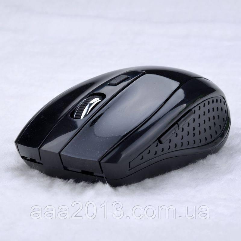 Мышка беспроводная, мышь 6 кнопок