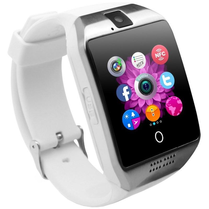 Смарт часы (Smart Watch) Умные часы Q18 white