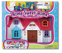 Игровой Набор для девочки Дом милый дом, семья и мебель, Keenway