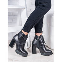 АКЦИЯ!!! Ботильоны кожаные - стильная женская обувь из натуральной кожи по цене производителя