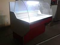 Витрина холодильная с гнутым стеклом Garda 1,8 м.