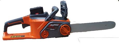 Аккумуляторная цепная пила Rupez RCS-40Li С АКБ и зарядным устройством, фото 2