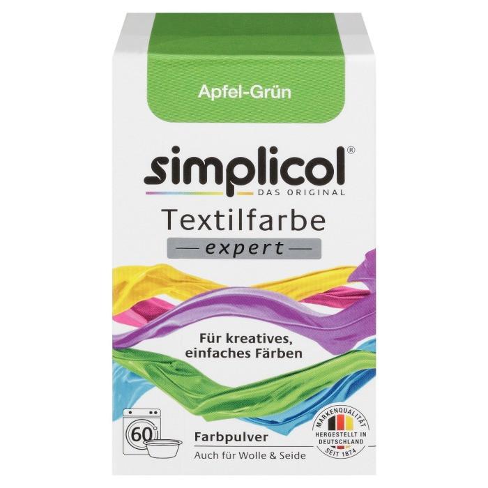 Краска Simplicol для смены цвета 150г зеленое яблоко
