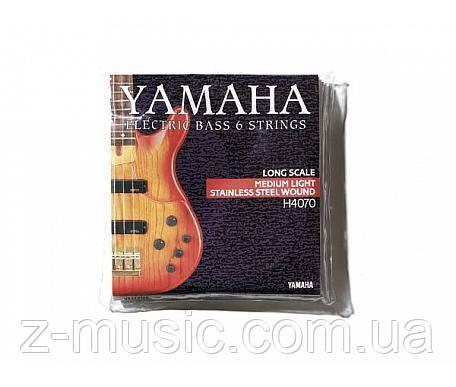 Струны для 6-ти струнной бас-гитары YAMAHA H4070II