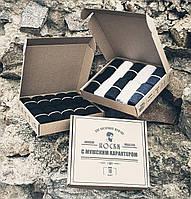 bcb5d8cf2c154 Подарок, мужские носки, 10 пар, Классические однотонные, Подарочный  комплект, Носки в