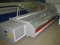 Настольная холодильная витрина Orta 1.0 м. (гнутое стекло)