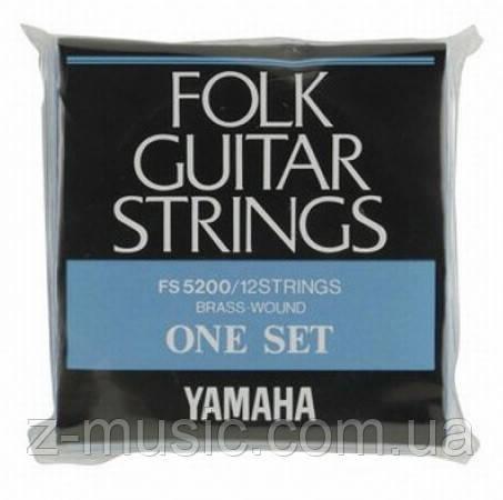 Струны для 12-струнной гитары YAMAHA FS5200