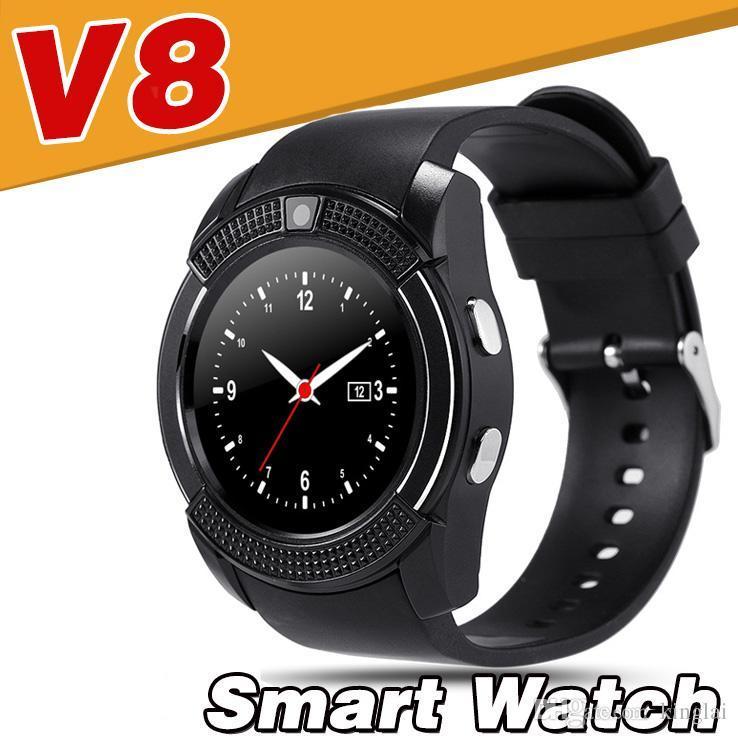 Смарт часы (Smart Watch) Умные часы V8 black