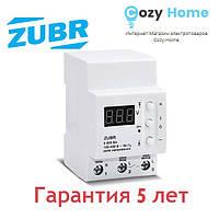 Реле напряжения ZUBR D40 (max 50 А), 8 800 ВА