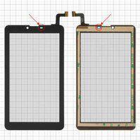 Touchscreen Nomi cosmo c07006 mtctp-70760 7d шл чорн г