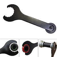 Ключ рожковый гаечный двухсторонний 2 в 1 Hollowtech II 2 съемник шатунов / чашки каретки