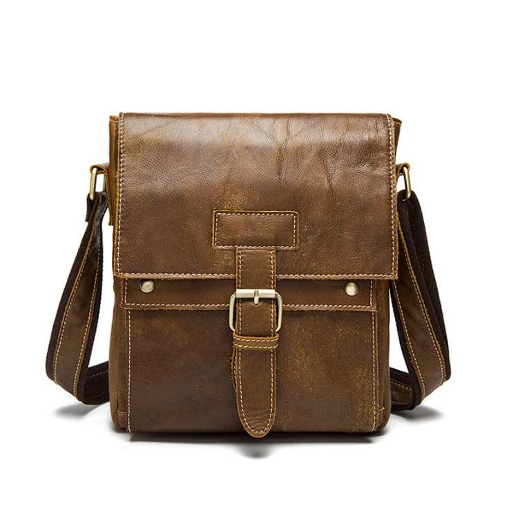 Классическая кожаная мужская сумка Marrant