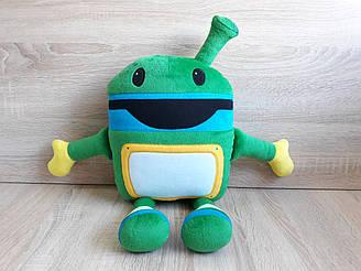 Мягкая игрушка-подушка робот Бот Умизуми ручная работа