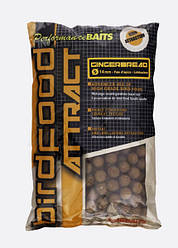 Бойлы Starbaits Birdfood attract Gingerbread имбирь 14мм 1кг