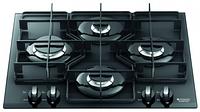 Варочная поверхность Hotpoint-Ariston TQ 640 BK K X HA (газовая, 60 см, черный)