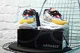 Женские кроссовки Versace Chain Reaction Baroque print, женские кроссовки Версачи, кроссовки версач, фото 5