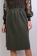 Тёплая юбка-карандаш на резинке S/M