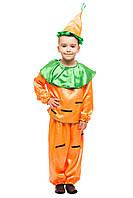 Карнавальный костюм Морковки для мальчика