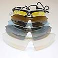 Очки  защитные Oakley M-Frame Hybride Polarization 5 линз с поляризацией, фото 6