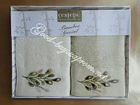 Турецкий комплект кухонных полотенец из бамбука Cestepe 2шт.