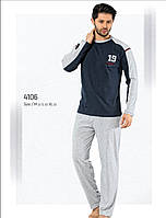 Пижама мужская хлопок Falkom 4106 весна-осень