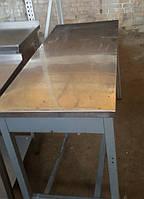 Производственный стол б/у (1400Х600 мм. Эконом), фото 1