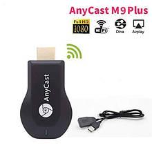 Медиаплеер HDMI адаптер Медиаплеер AnyCast M9 Plus (Google) Wi-Fi адаптер смарт ТВ беспроводной