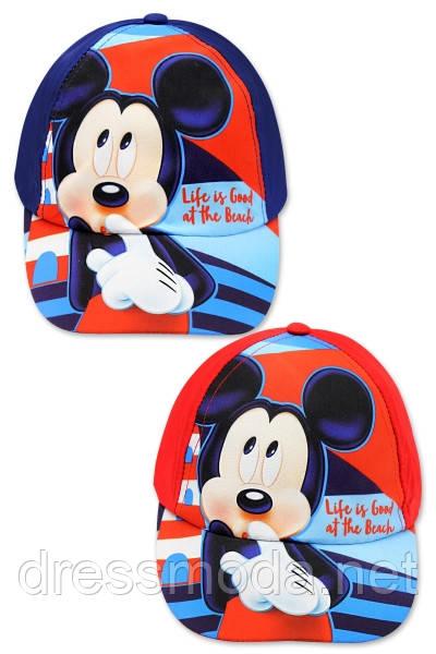 Кепки детские для мальчиков  Mickey от Disney 52-54cm