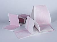Бумага диаграммная фальцованная 145*150*400 для Fukuda Cardisuny C300B/ Alpha 600AX