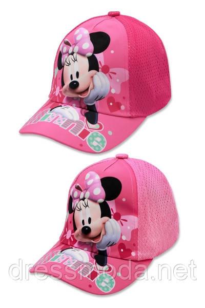 Кепки дитячі для дівчаток від Disney Minnie 52, 54 cm