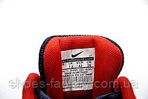Беговые кроссовки в стиле Nike Air Zoom Pegasus, Dark blue\Red, фото 2