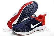 Беговые кроссовки в стиле Nike Air Zoom Pegasus, Dark blue\Red, фото 3