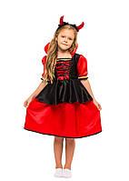 Карнавальный костюм Вампирши, Дьяволицы для девочки