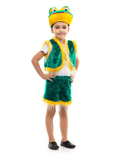 Карнавальный костюм жабки для мальчика