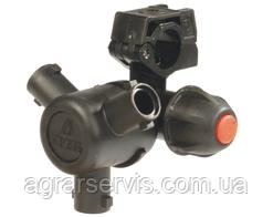 Корпус форсунки на 3-й розпилювача д=25 мм Код; 406425A7 Виробник ARAG Трьохпозиційна