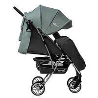 Детская прогулочная коляска с дождевиком синевато-серая CARRELLO Gloria RL-8506 Slate Blue