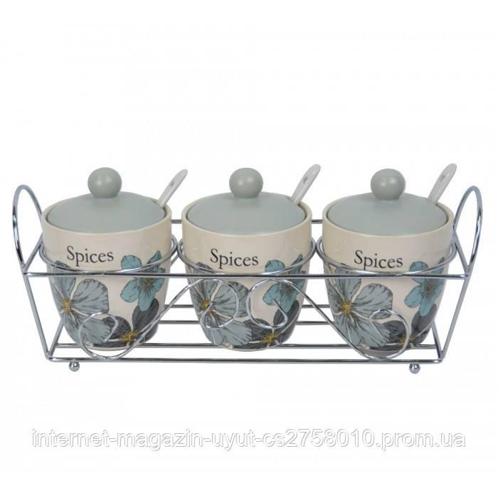 Набор банок для сыпучих продуктов  YX677