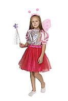 Карнавальный костюм Бабочки розовый