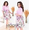 Платье / вискоза, софт / Украина 36-03977