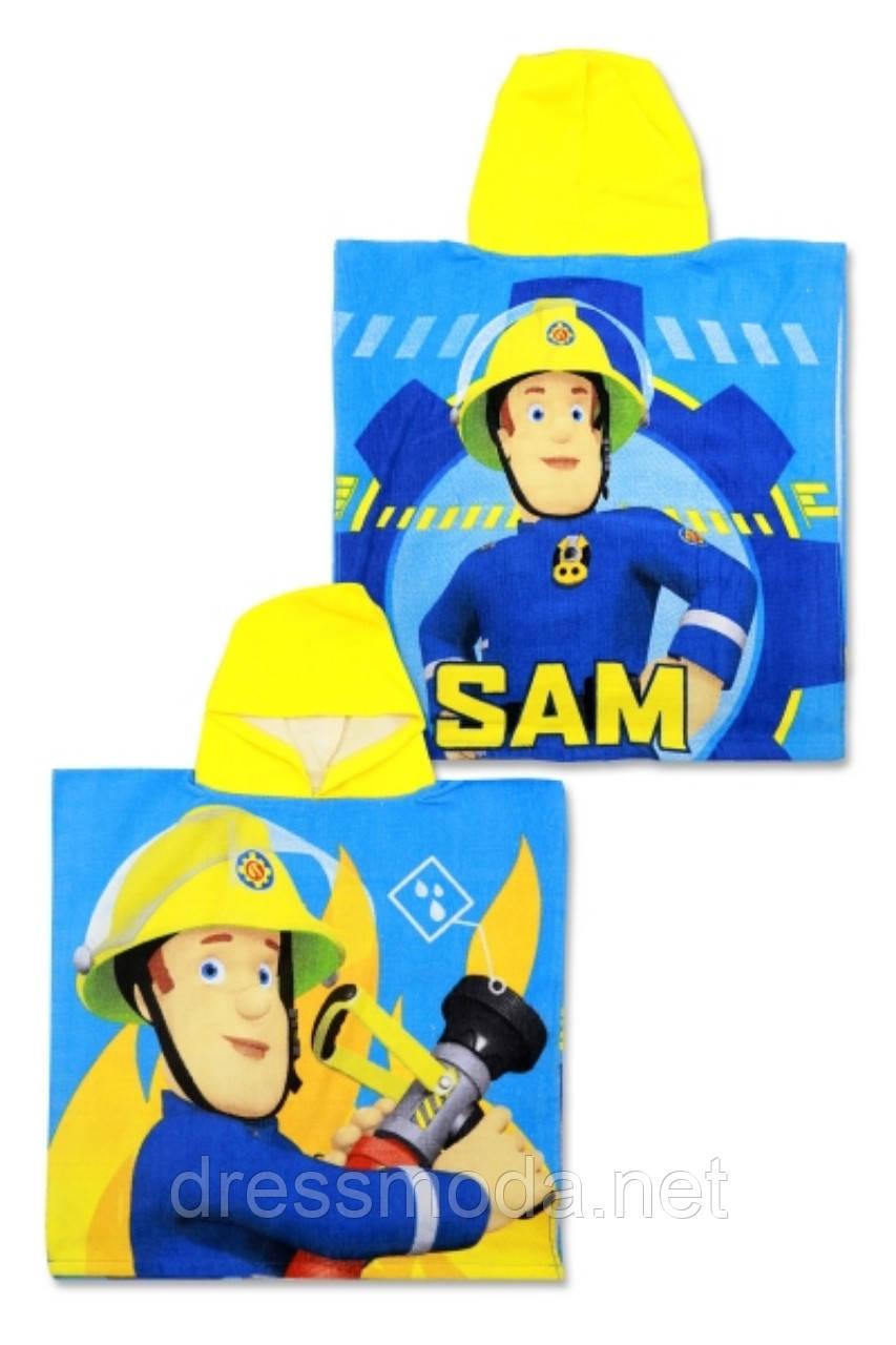 Рушник-пончо для хлопчиків Sam 55/110 р.