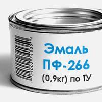 Эмаль-краска ПФ-266 для деревянных полов, по ТУ (0,9кг)